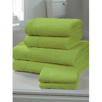 Chatsworth Towel Bale Lime - 2 Bath Sheets