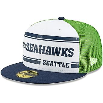 New Era 59Fifty Cap - Sideline 1970s Home Seattle Seahawks