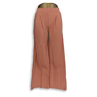 N'importe qui femmes-apos;s Pantalon Tall XXST Cozy Knit Wide-Leg Orange A347174