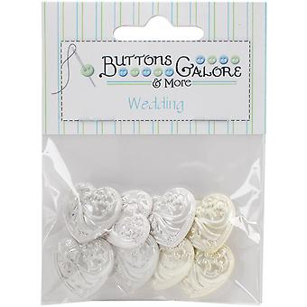 Button Theme Pack-Wedding Bliss BTP-4416