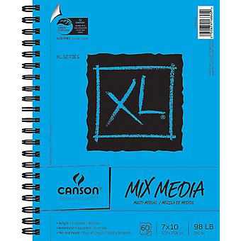 De papieren Canson Xl Multi Media Pad 7