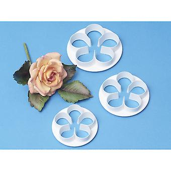 Petal Cutter Set 3 Pieces Five Petal Fp900