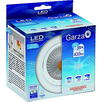 Garza Recessed Cob Led 400Lm 5W 60 30K (Home , Lighting , Light bulbs and pipes)