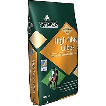 Spillers High Fibre Cubes 20Kg (Horses , Food , Feed , Extruded)