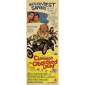 Clarence Cross Eyed Lion Movie Poster (11 x 17)