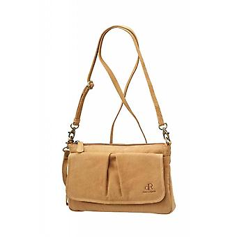 Dr Amsterdam shoulder bag/Clutch Olive Cashew Beige