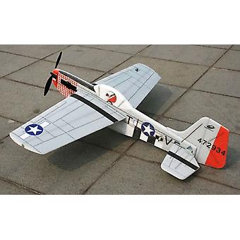 Mustang P51 EPP 3D with motor and prop