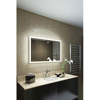 RGB Shaver LED Bathroom Mirror with Demister pad & sensor K8401hrgb