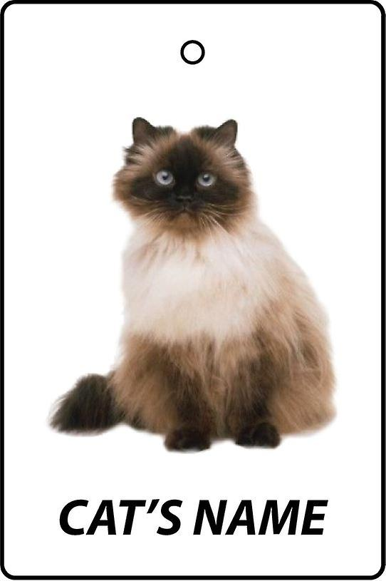 Personalised Himalayan Cat Car Air Freshener