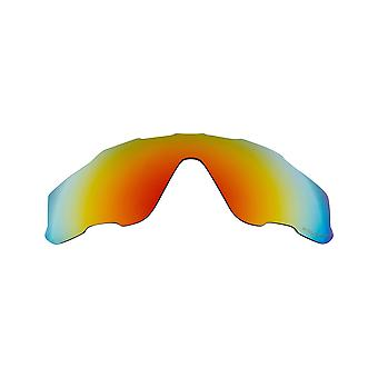 New SEEK Polarized Replacement Lenses Oakley JAWBREAKER Asian Fit Red Mirror