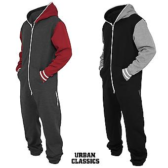 Urban Classics College Sweat Jumpsuit
