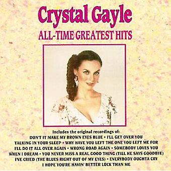 Crystal Gayle - All-Time Greatest Hits CD] USA import