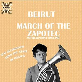 Beirut - marts Zapotec [CD] USA importen