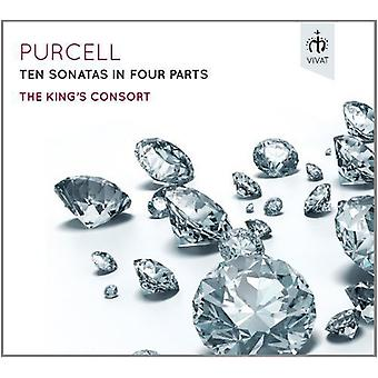 Purcell / Kings Consort - Ten Sonatas in Four Parts [CD] USA import