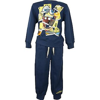 Boys SpongeBob Jogging suit Tracksuit 2 piece set in the Box NH6561.I00.B