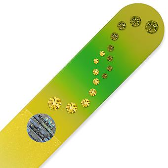 Mont Bleu Large Glass Nail File with crystals WAC-B