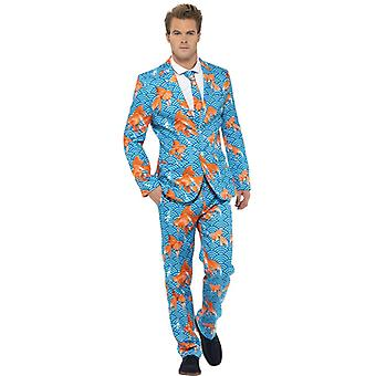Goldfish suit fish Aquarium suit slimline men's 3-piece premium