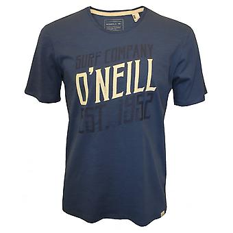 O'Neill Signage Logo Crew-Neck T-Shirt, Dusty Blue