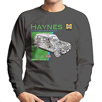Haynes Owners Workshop Manual 0072 Renault 4 mannen Sweatshirt