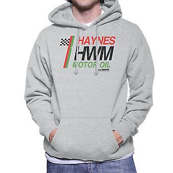 Haynes Castrol Motor Oil Men's Hooded Sweatshirt