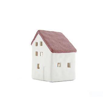 Light-Glow Small House with LED, Red