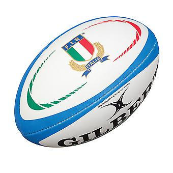 GILBERT Italy Replica midi rugby ball