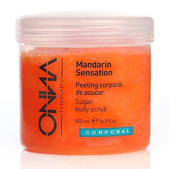 Onna Therapy Salt and Sugar Body Scrub Mandarin Sensation 500 ml