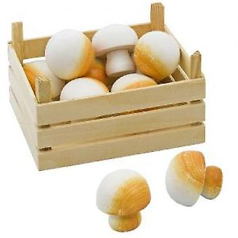 Goki Mushrooms in vegetable crate (Toys , Home And Professions , Professions)