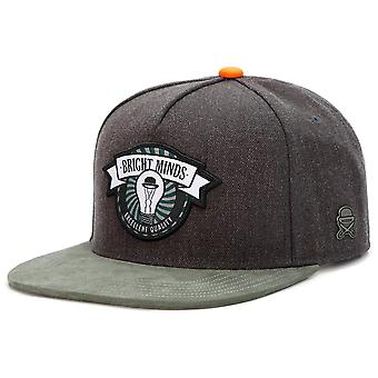 Cayler & sons Snapback Cap - BRIGHT MINDS charcoal