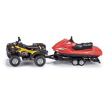 Siku Quad With Trailer And Jet-Ski