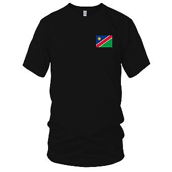 Namibias Land Nationalflagge - Stickerei Logo - 100 % Baumwolle T-Shirt Kinder T Shirt