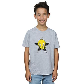Looney Tunes Boys Tweety Pie Star T-Shirt