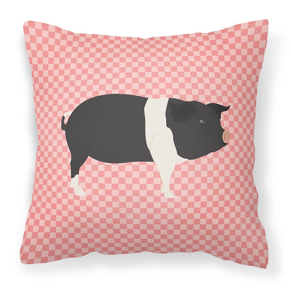 Oreiller Décoratif Cochon Hampshire Rose Tissu Vérifier La fgbyvY76