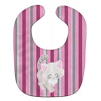 Каролинских сокровища BB6878BIB котенок кошка розовый и серый ребенка Bib