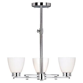 Elstead BATH/WL3 Wallingford 3 Light Bathroom Ceiling Light