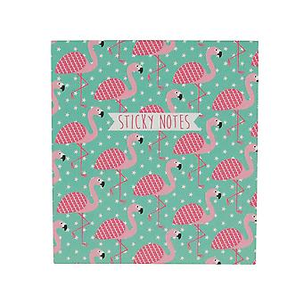Sass and Belle Flamingo Tropical Summer Sticky Note Set