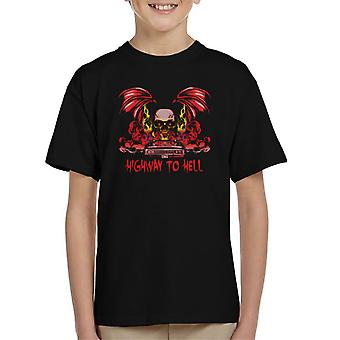 Supernatural Highway To Hell Kid's T-Shirt