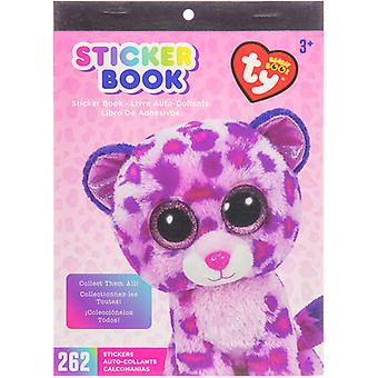 Beanie Boos Sticker Book-Leopard SB300-18873