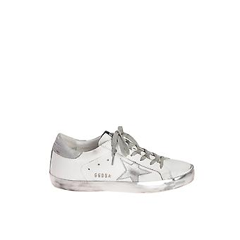 Golden Goose women's GCOWS59031PWE36 silver/white leather of sneakers