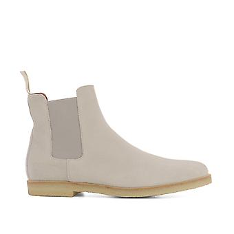 Common projects men's 18977543 grey Suede Ankle Boots
