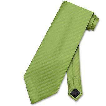 Vesuvio Napoli NeckTie Striped Vertical Stripes Men's Neck Tie