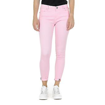 Andrew Charles Womens Trousers Pink Claire