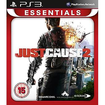 Just Cause 2 PlayStation 3 Essentials (PS3) - Factory Sealed