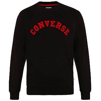 Converse Quilted Panel Sweatshirt