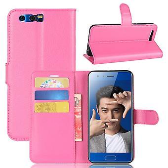 Pocket tegnebog Deluxe Pink for Huawei honor 9 beskyttelse ærme dække sag