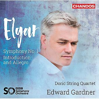 Elgar / doriska stråkkvartett / BBC Symphony - Sir Edward Elgar: Introduktion & Allegro [SACD] USA import