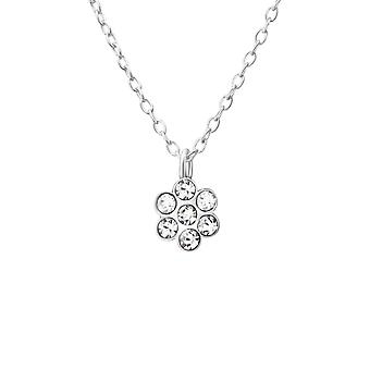 Flower - 925 Sterling Silver Necklaces - W37537x