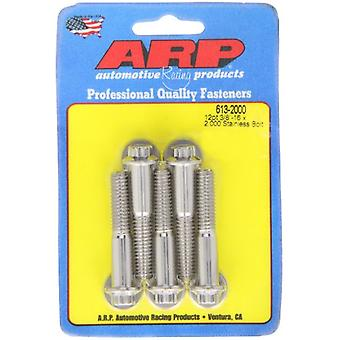ARP 6132000 Stainless Steel 3/8-16 12-Point Bolts - Pack of 5