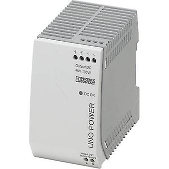Phoenix Contact UNO-PS/1AC/48DC/100W Rail mounted PSU (DIN) 48 Vdc 2.1 A 100 W 1 x