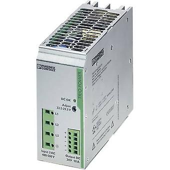 Phoenix Contact TRIO-PS/3AC/24DC/10 Rail mounted PSU (DIN) 24 Vdc 10 A 240 W 1 x